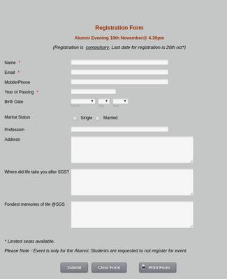 Event Registration Forms Form Templates Jotform