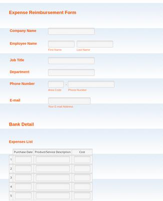 Simple Activity Tracker Form Template Jotform